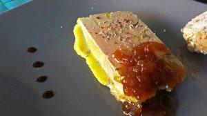 Foie gras mi-cuit au porto
