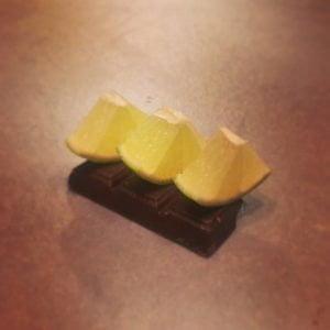 Résultats de la mention spéciale : citron et chocolat par Vuong