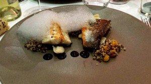 Nama : Bar Quinoa Abricot sec Essence de truffe Haricots de Soisson Espuma d'agrume japonais